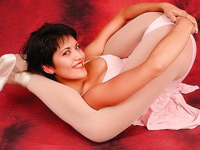 Sexy ballet girl