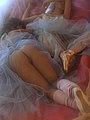 nude lesbian ballerinas
