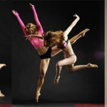 Red-haired nude ballet dancer in the world of sexual fantasies