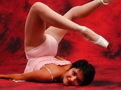 Sexy ballet girls