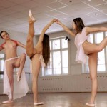 Nude ballet dancers are waiting for you to see their bodies