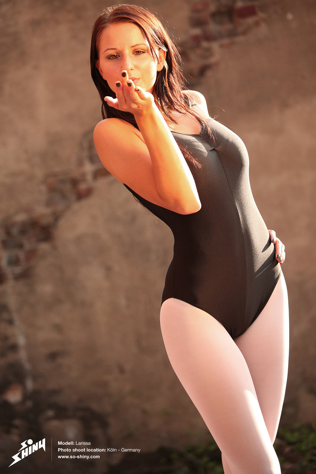 Sexy ballet dancer