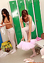 Hot lesbian ballerinas